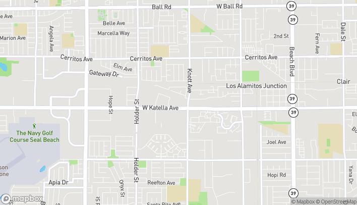 Mapa de 6847 Katella Avenue en Cypress