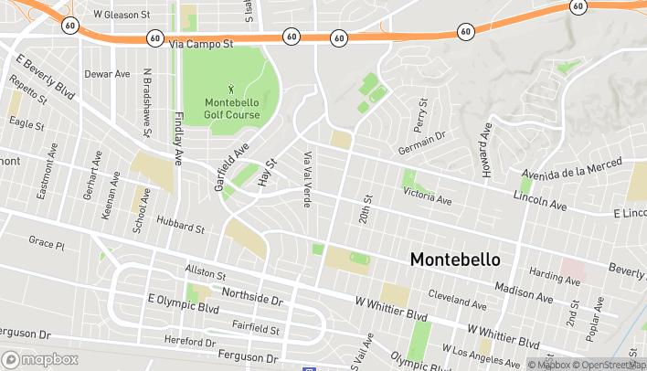 Mapa de 2242 W Beverly Blvd en Montebello