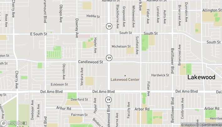 Map of 5252 Lakewood Blvd in Lakewood