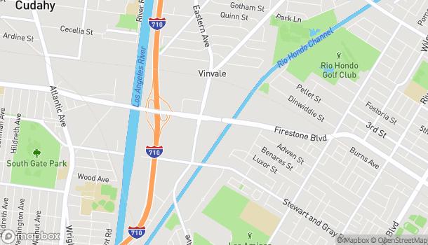 Map of 5840 Firestone Blvd in South Gate