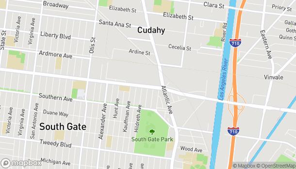 Map of 4705 Firestone Blvd in South Gate