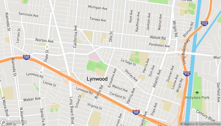 Map of 3801 Martin Luther King Jr. Blvd in Lynwood