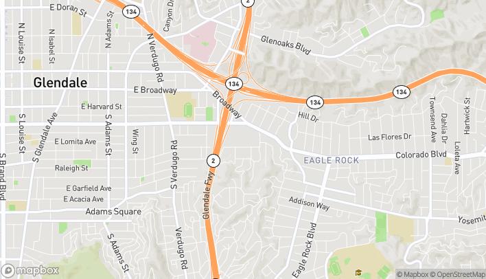 Mapa de 2700 Colorado Blvd en Los Angeles