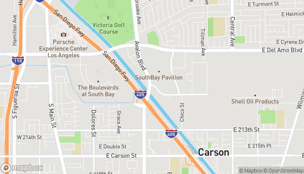 Mapa de 20810 Avalon Blvd en Carson