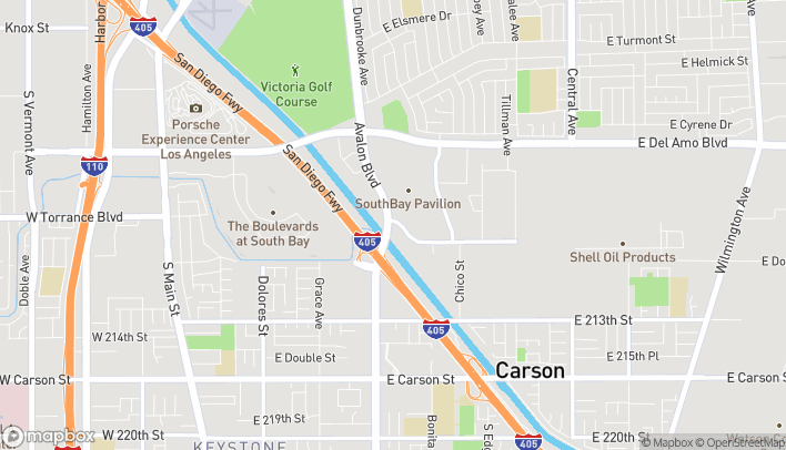 Map of 20810 Avalon Blvd in Carson