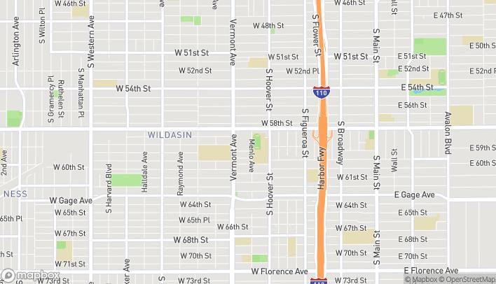 Mapa de 5838 Vermont Ave en Los Angeles