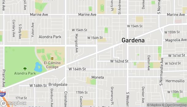 Map of 2229 Redondo Beach Blvd in Gardena