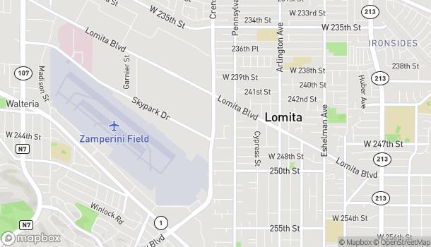 Map of 24520 Crenshaw Blvd in Torrance