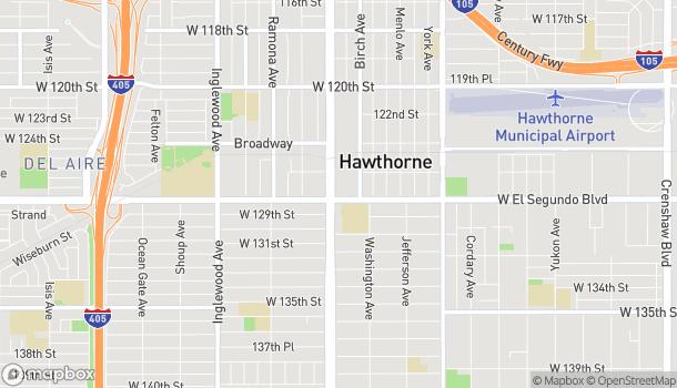 Map of 12770 Hawthorne Blvd in Hawthorne