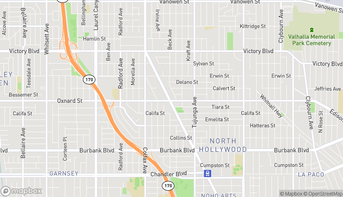 Map of 6000 Lankershim Blvd in North Hollywood