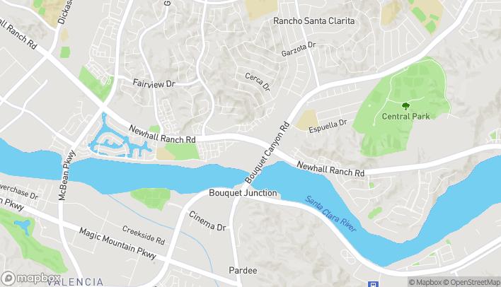 Mapa de 26453 Bouquet Canyon en Santa Clarita