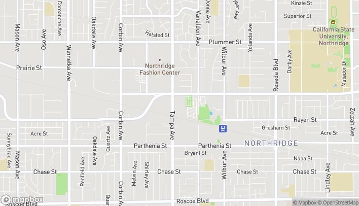 Map of 9050 Tampa Avenue in Northridge
