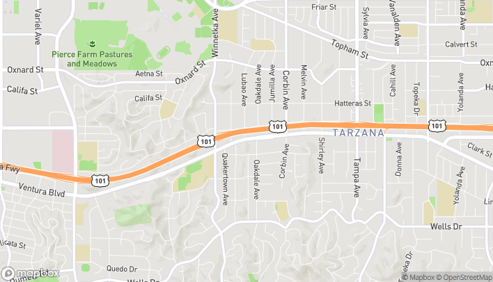 Map of 19930 Ventura Blvd in Woodland Hills