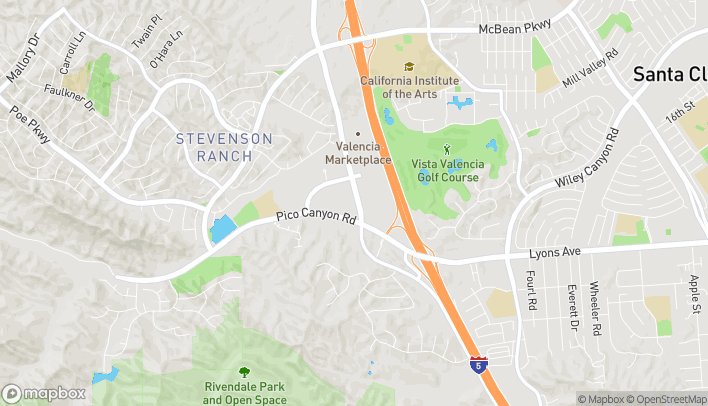 Map of 24943 Pico Canyon Rd in Stevenson Ranch