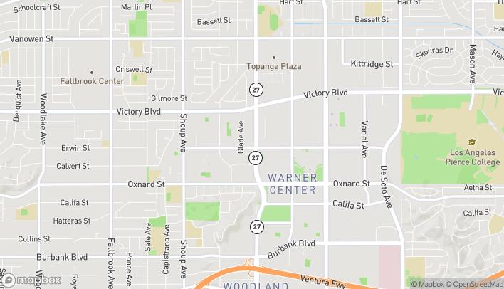 Map of 6203 Topanga Canyon Blvd in Woodland Hills