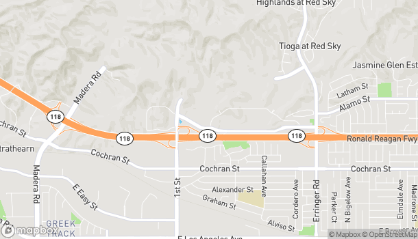 Map of 1263 Simi Town Center Way in Simi Valley