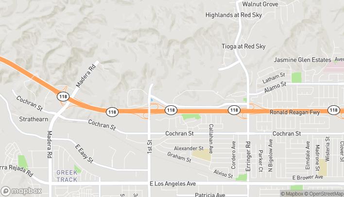 Mapa de 1263 Simi Town Center Way en Simi Valley