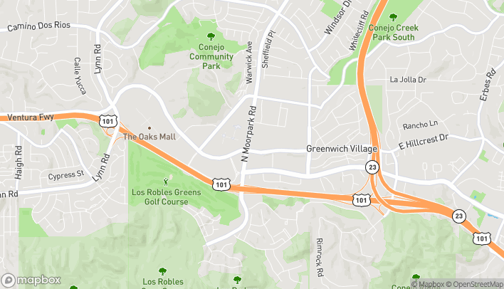 Map of 180 N Moorpark in Thousand Oaks