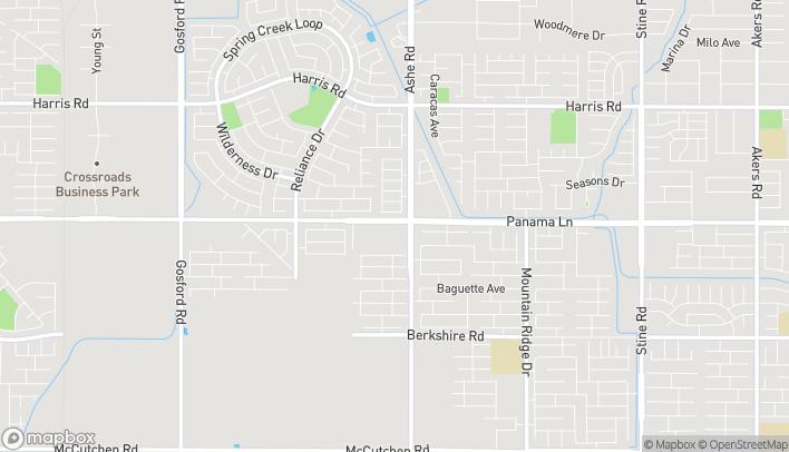 Map of 6603 Panama Lane in Bakersfield