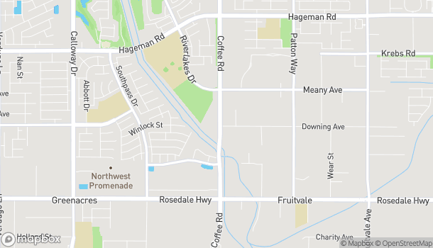 Map of 3401 Coffee Rd in Bakersfield