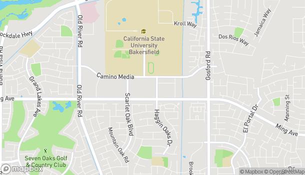 Mapa de 9000 Ming Ave en Bakersfield