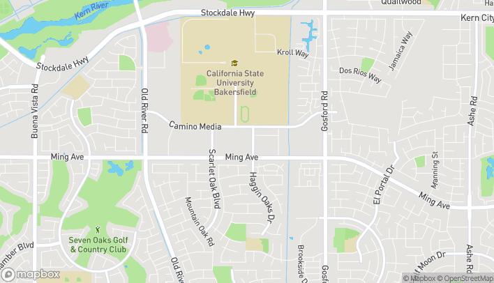 Map of 9000 Ming Ave in Bakersfield