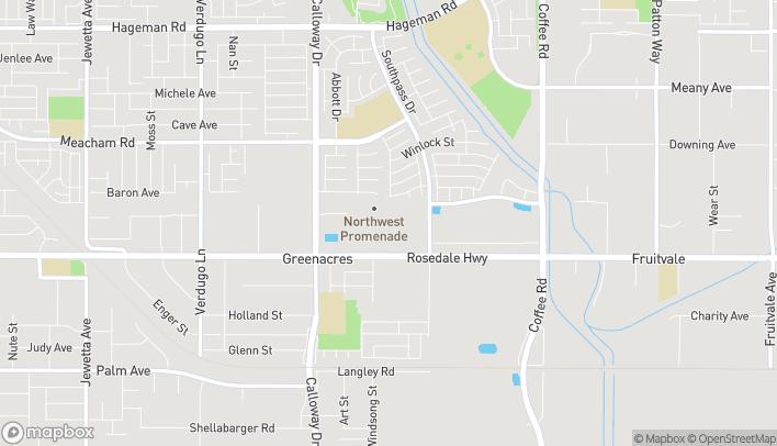 Map of 9160 Rosedale Hwy in Bakersfield