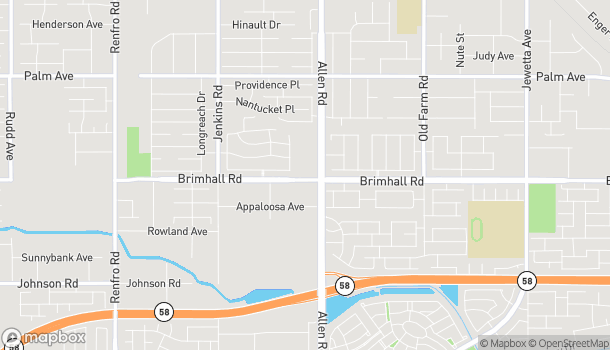 Map of 12918 Brimhall Road in Bakersfield