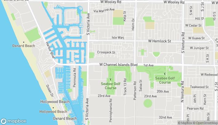 Mapa de 585 W Chanel Islands Blvd en Port Hueneme