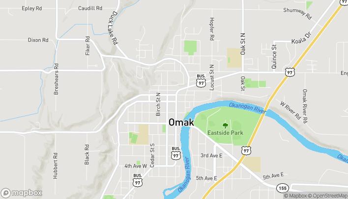 Map of 201 N Main St in Omak
