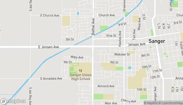 Map of 775 Bethel Ave in Sanger