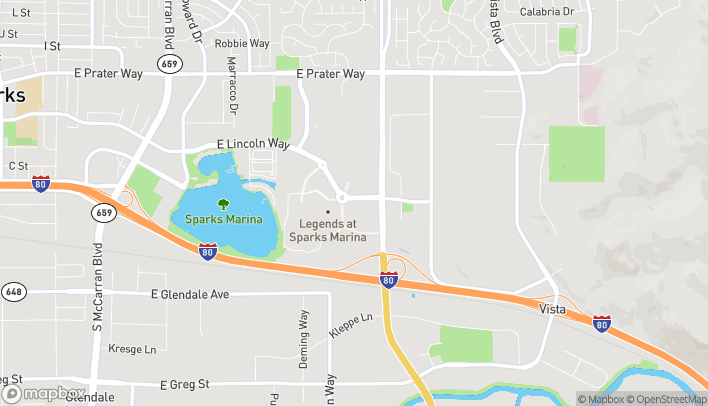 Map of 1565 E Lincoln Way in Sparks