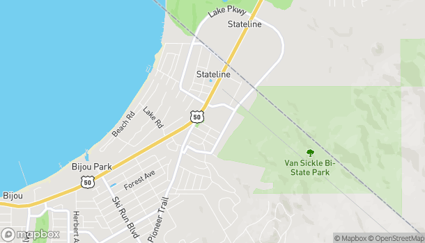 Mapa de 4000 Lake Tahoe Blvd en South Lake Tahoe