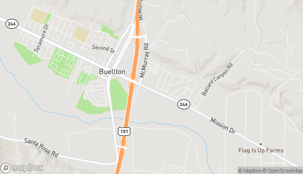 Map of 235 E Highway 246 in Buellton
