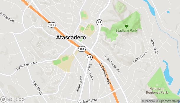 Map of 6990 El Camino Real in Atascadero