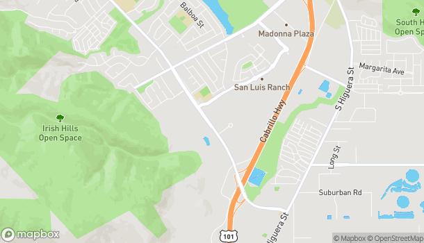 Map of 11998 Los Osos Valley Blvd in San Luis Obispo