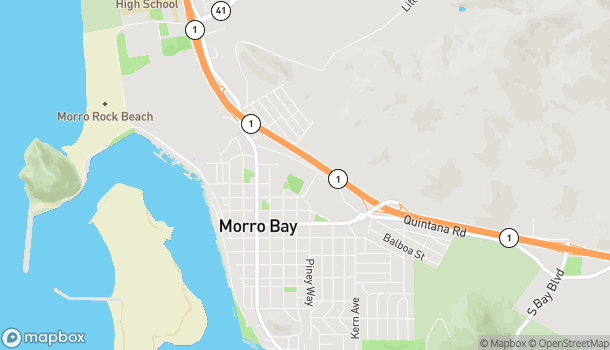 Map of 510 Quintana Road in Morro Bay