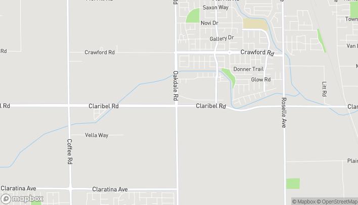 Map of 2207 Claribel Rd in Riverbank