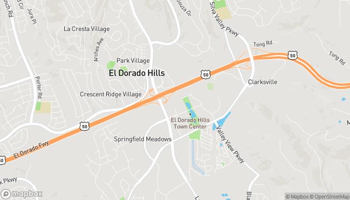 Mapa de 4510 Post St en El Dorado Hills