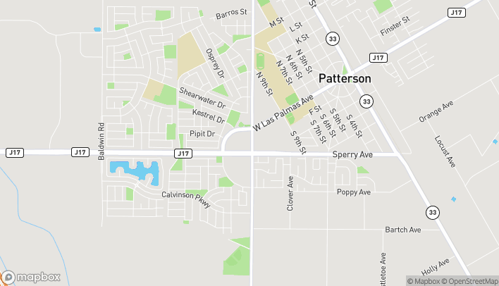 Map of 1015 Sperry Ave in Patterson