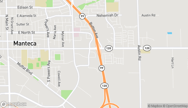 Map of 1460 Hulsey Rd in Manteca