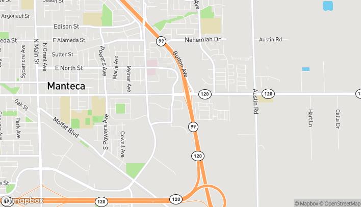 Map of 1460 Hulsey Rd in Manteca