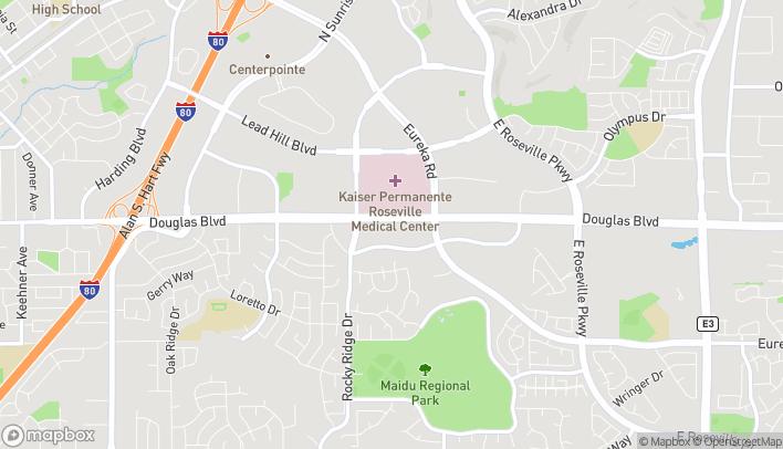 Map of 2030 Douglas Blvd in Roseville