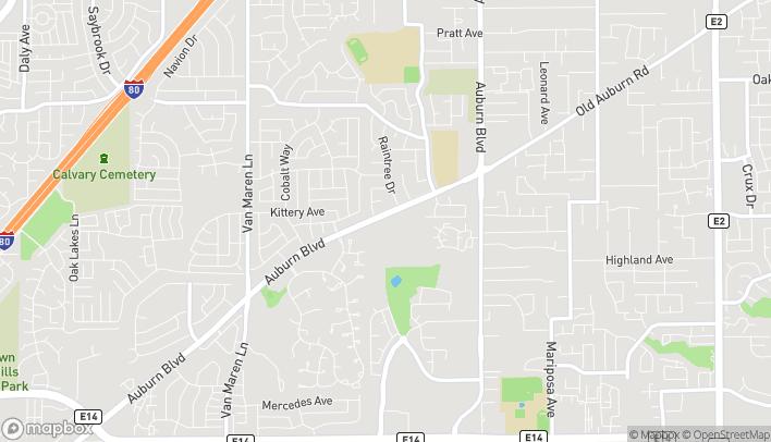 Mapa de 6920 Auburn Blvd en Citrus Heights
