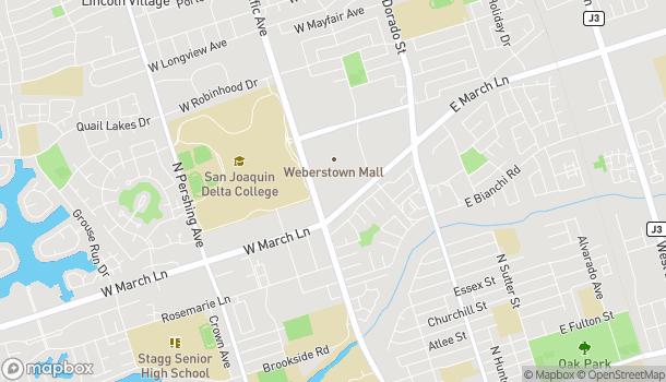 Mapa de 4950 Pacific Ave en Stockton