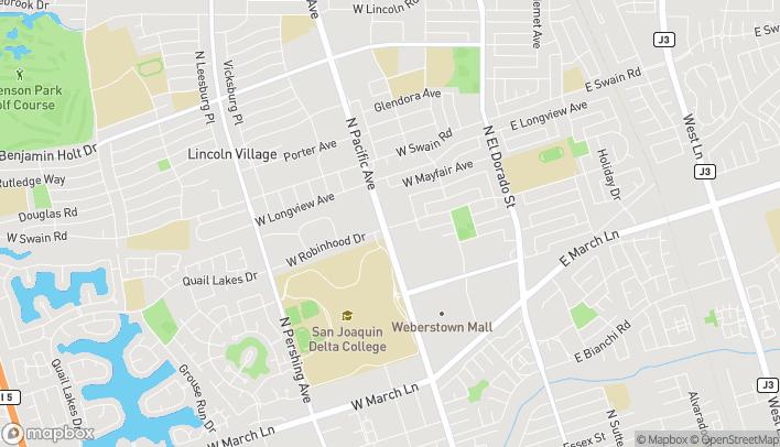 Mapa de 5756 Pacific Ave en Stockton