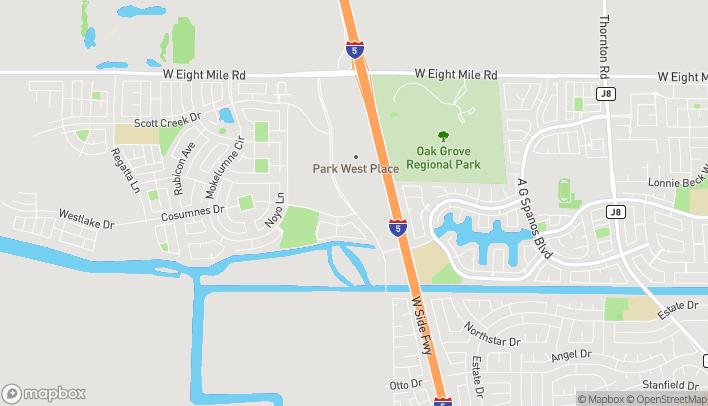 Mapa de 10318 Trinity Pkwy en Stockton