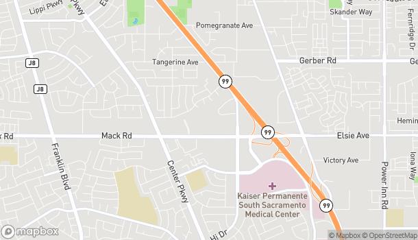 Map of 6051 Mack Road in Sacramento