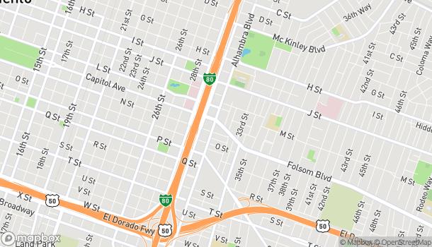 Map of 3100 Folsom Blvd in Sacramento