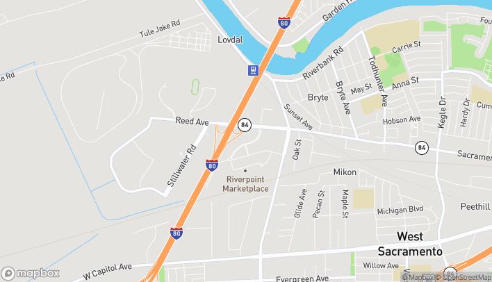 Mapa de 768 Ikea Court en West Sacramento